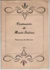 CENTENÁRIO DE MARIA SABINA